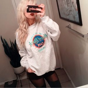 🌏 90s Hard Rock Cafe Sweatshirt